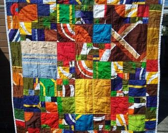 Handmade quilt - play mat