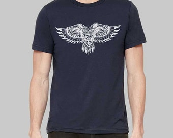 Owl Shirt, Owl, Graphic Tees for Men, Mens Tshirt, Graphic Tee, Gift For Men, Clothing, T Shirt, T Shirts For Men