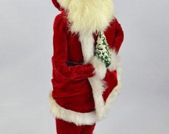 Vintage Beyers Choice Ltd Traditional Santa 1985 Signed