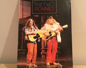 The Two Ronnies Tour Programme