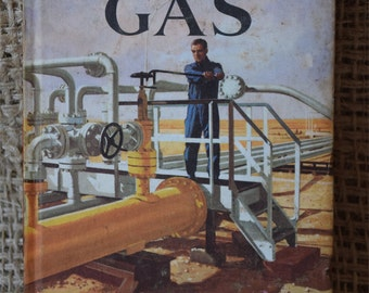 The Public Services. Gas. A Vintage Ladybird Book. Series 606E. First Edition. 1967