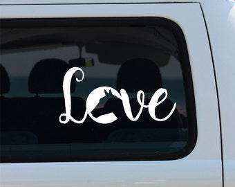 Horse Car Decal Etsy - Horse decals for trucks