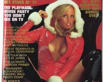 Playboy Magazine December 1977