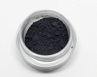 Bellatrix - Mineral Eyeshadow - Black Eyeshadow - Loose Powder - Matte - Half Gram - Vegan, Preservative-Free