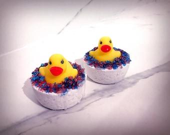 Gender Reveal Rubber Ducky Bath Bomb