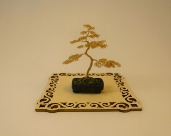 Miniature Bonsai Tree in pot