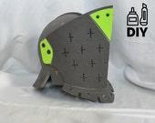 DIY For Honor: Lawbringer helmet templats for EVA foam