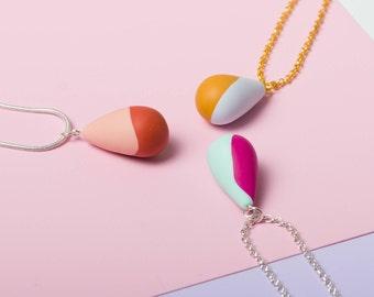 Delicate necklace, Geometric necklace, Gold chain, Geometric jewelry, Simple necklace, Tiny necklace, Minimalist jewelry Urban fashion DN003