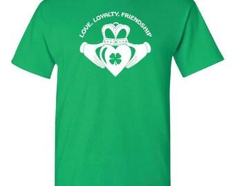 Saint Patrick's Day, Claddagh ring t shirt, shirt