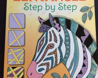 Zentangle step by step book
