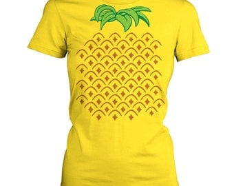 Pineapple Costume women's t-shirt