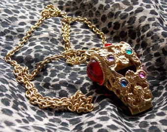 Glam Fashion Necklace Whistle From the 1980s