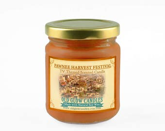 Pawnee Harvest Festival Inspired Scented Soy Candle