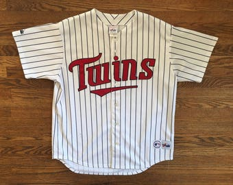 Vintage 90s Minnesota Twins Baseball Jersey MLB Size XL * Made In USA