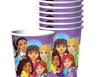 Dora the Explorer ''Dora and Friends'' Paper Cups 8ct