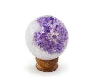 Geode Amethyst Sphere