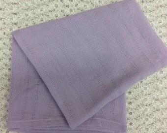 Purple Gauze Swaddling Blanket