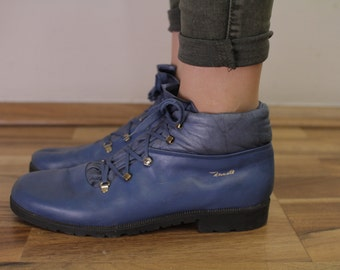 Zanotti Vintage Boots High tops shoes Eu40 UK7 US9