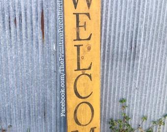 Welcome Hawkeye Sign
