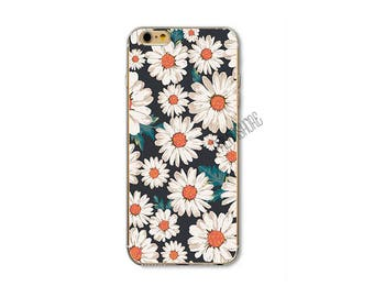 Floral iPhone Case, Floral iPhone 7 Case, Floral Phone Case, Flower Phone Case