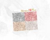 I Do Glitter Headers - Matte or Glossy Erin Condren Planner Stickers -