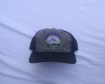 Vintage Colorado Rockies Snapback by The Game