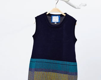 DORIS dress from super soft Merino Wool