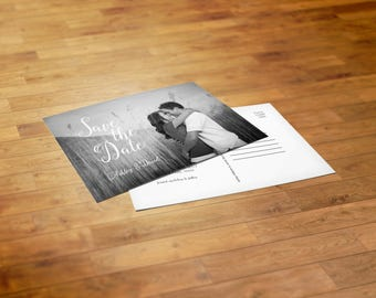 CUSTOM PRINTED | Post Card Save the Dates