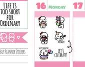 Munchkins - Happy Birthday Planner Stickers (M256)