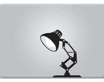 Pixar Lamp Style Decal Sticker for Apple Macbook and other Laptops