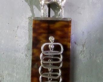 Vintage ties rack lucite jewelry rack Horse statue jewelry box Mid century furniture cowboys