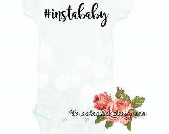 Funny Baby Onesie-Newborn Funny Baby Onesie-Hastag Instagram Baby-Instagram Baby Onesie-Funny Newborn outfit-Hashtag-Funny-Instagram-