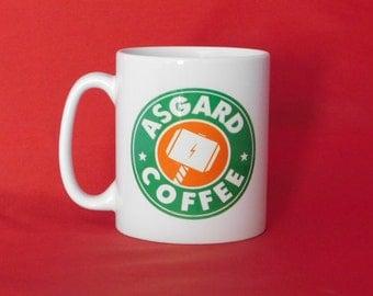 Marvel Avengers Thor Starbucks Inspired Coffee Mug 10oz Tea
