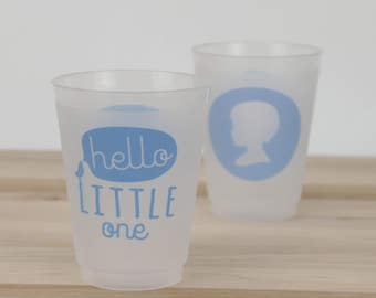 Baby Shower Cups, It's a BOY!, Hello Little One, Baby Boy Party Cup, Snips & Snails, Boy Shower Cup, Do It Yourself Shower, Custom Cups