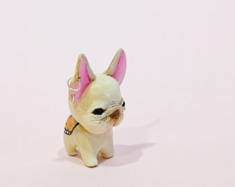 Frenchiefly Polymer Clay Figurine