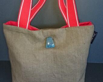 Susie Linen Bespoke Handbag