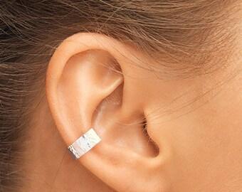 Silver Ear Cuff, Small Ear Cuff, Ear Cuff, Sterling Ear Cuff, Silver Cuff, Band Ear Cuff, Plain Ear Cuff, Thin Ear Cuff, Silver Ear Cuffs