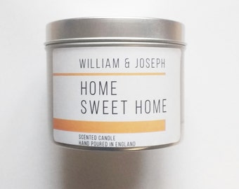 SALE: Home Sweet Home Scented Candle | Vanilla Candle, Gifts for her,  scented candles, housewarming gift