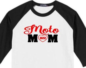 Motorcross Mom Shirt Moto Mom T Shirt Motocross Shirt Boy Rider Motocross Mom T Shirt