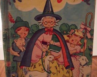 Mother Goose (Rand McNally Junior Elf Book, 1946)