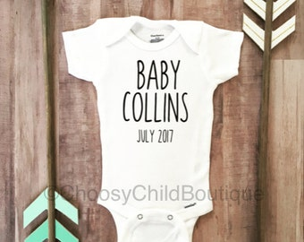 Pregnancy Announcement Onesie-Pregnancy Announcement-Coming Soon Onesie-Personalized Pregnancy Announcement-Pregnancy Announcement Shirt