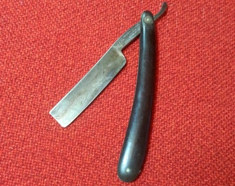 "Vintage Sheffield Hollow Ground Straight Razor No. 666 Magnetized Sheffield Cutlery Co. Germany ""Rare"""