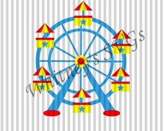 Ferris Wheel SVG Cutting File