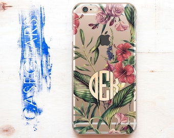 Flower iPhone Clear Case iPhone 7 Cover iPhone SE Case Personilized iPhone Case Case for Samsung Personal Phone Print iPhone 6S Plus 1000