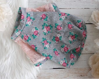 Dog clothes, dog shirt, puppy clothes, puppy shirt, dog outfit, puppy outfit, rose