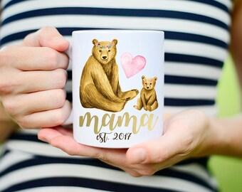 Mama Bear with Baby Bear Mug, Mama Bear and Baby Bear Mug, Mama Bear Mug with Baby Bear, Mama Bear Mug, Mama and Baby Bear Mug, Mug for Mama