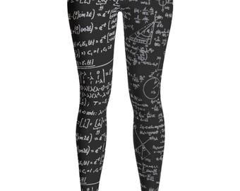 Math Leggings - Engineer Leggings - Math Student Leggings - Engineering Math Leggings - Equation - Summer Leggings - Children - Kids leggins