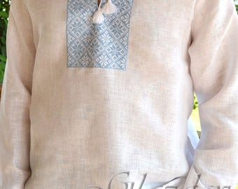 Ukrainian Embroidered Shirt, Ukrainian vyshyvanka