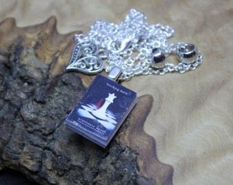 Hand made, Unique, Miniature Book Necklace, Twilight Saga *Breaking Dawn* with real pages.