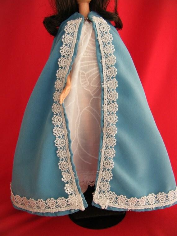 Turquoise Barbie House: Barbie Cape Turquoise: Barbie Doll Clothes Barbie Clothes